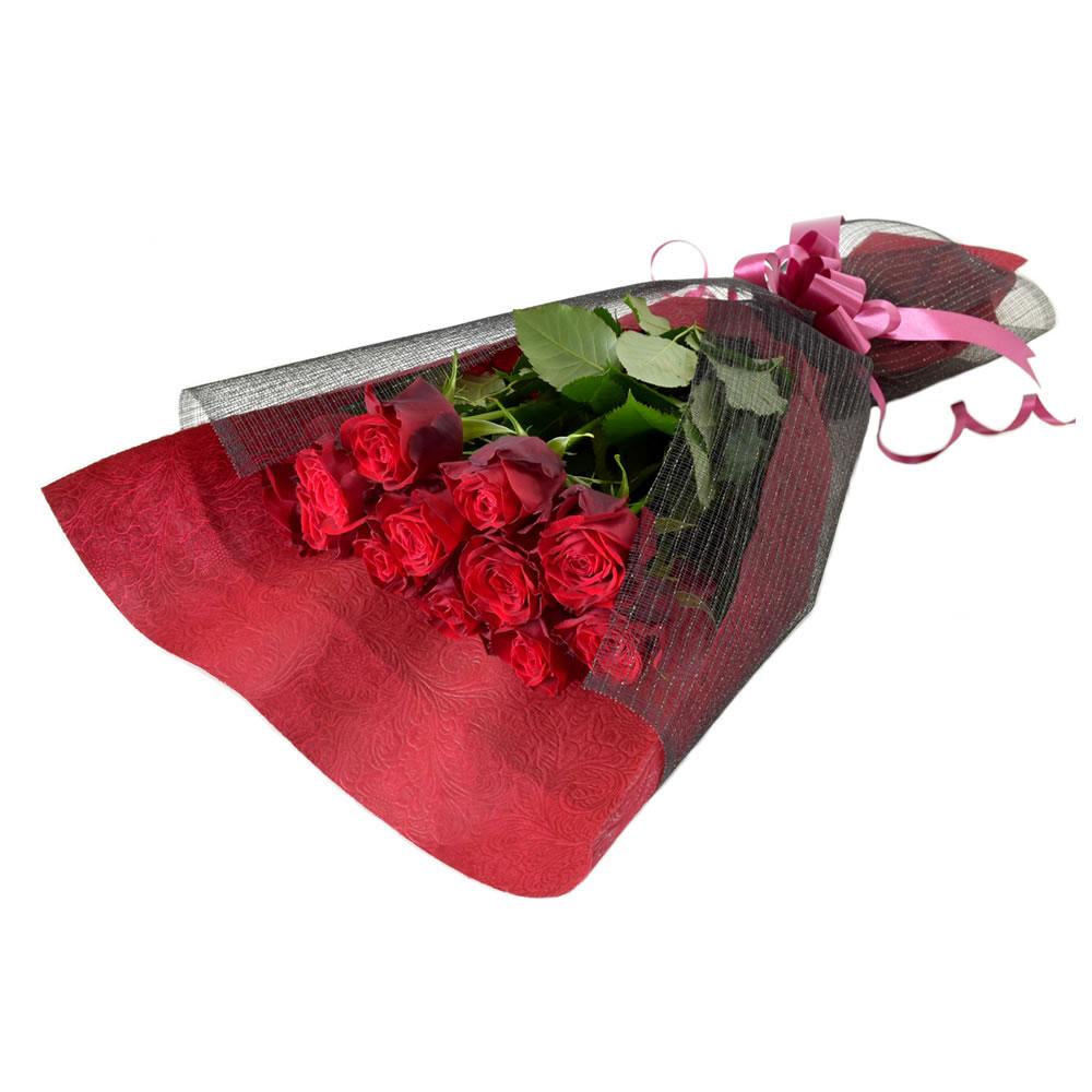 アマダ 赤薔薇 50cm 12本
