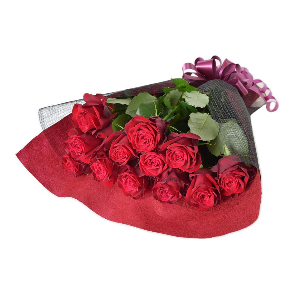 アマダ 赤バラ 50cm 12本