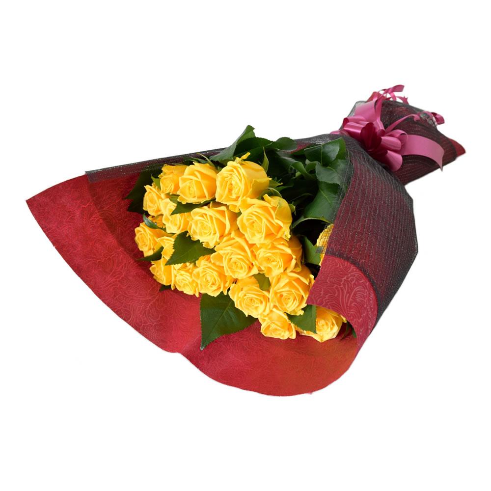 ソラーレ 黄色薔薇 50cm 20本