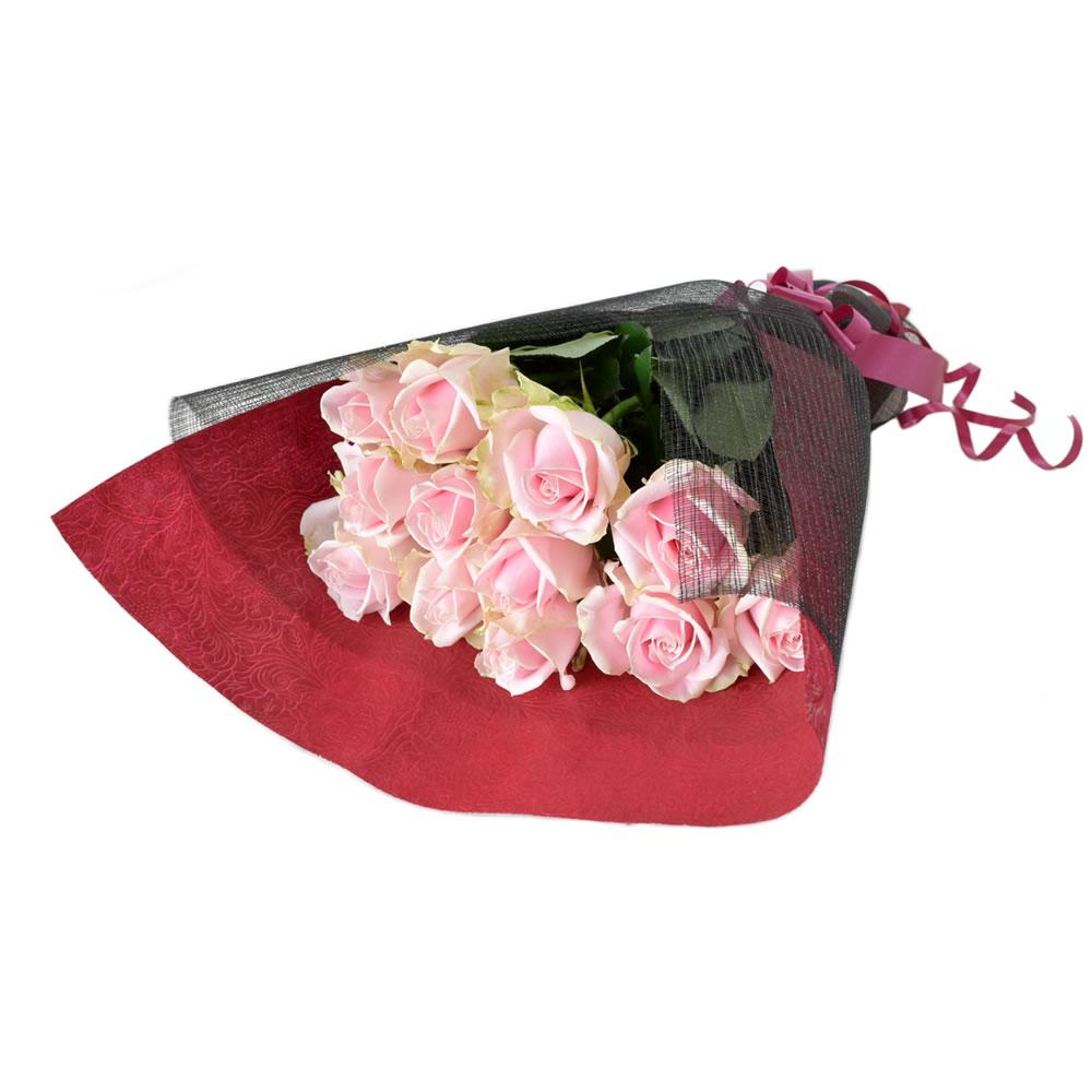 スイートアヴァランチェ クリームピンク薔薇 50cm 12本