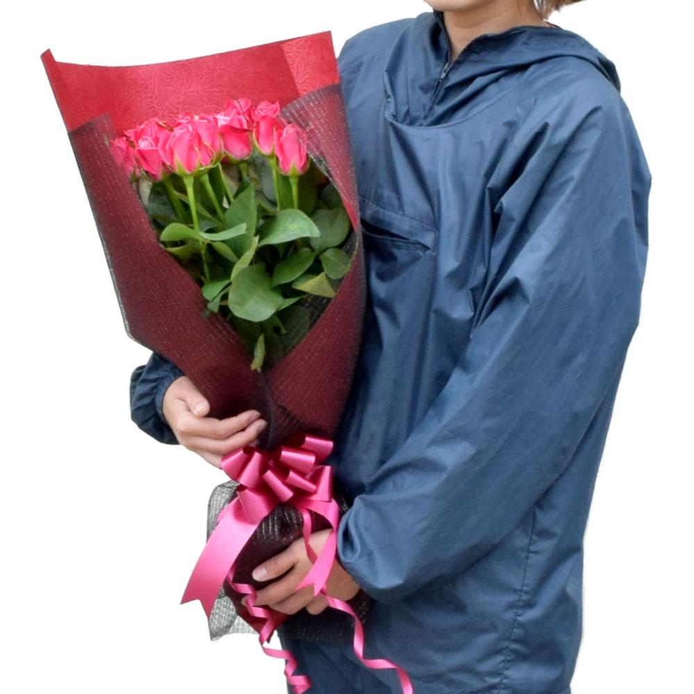 タージマハル 濃いピンク薔薇 50cm 20本