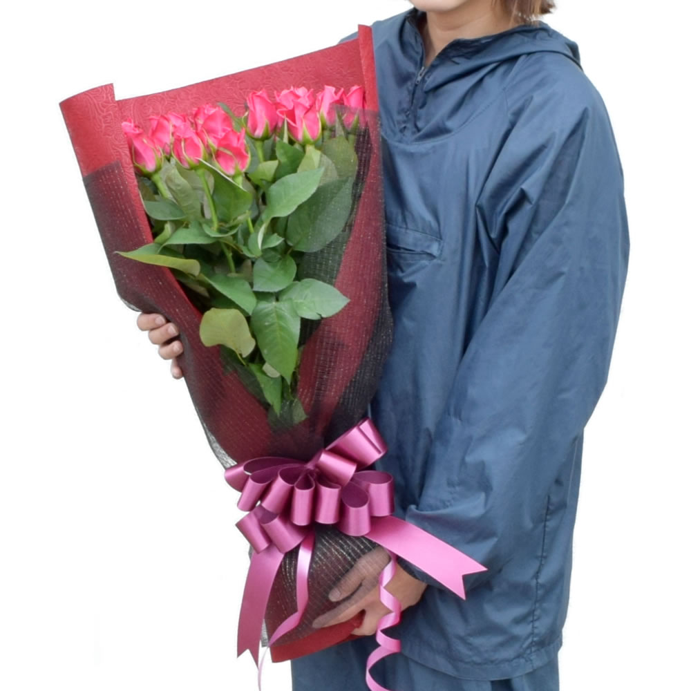タージマハル 濃いピンクバラ 60cm 20本